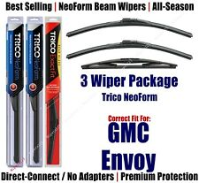 3-Pack Wipers Front & Rear NeoForm - fit 2007-2009 GMC Envoy - 16220x2/12E