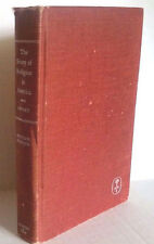 THE STORY OF RELIGION IN AMERICA by William Sweet 1950 VINTAGE HARDCOVER BOOK
