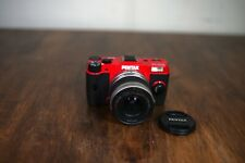 PENTAX Q Q10 12.4MP Digital Camera Red w/ kit Standard Zoom 02 SMC 5-15mm Lens