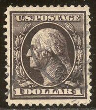 U.S. #342 Used Vf/Xf - $1 Violet Brown ($95)