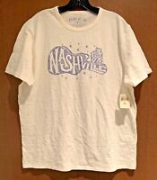 NWT - Lucky Brand Nashville Guitar Graphic T-Shirt MSRP $29.50