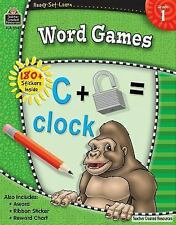 Ready-Set-Learn: Word Games, Grade 1 by Teacher Created Resources Staff...