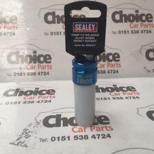 "Sealey SX03017 Alloy Wheel Impact Socket 17mm 1/2""Sq Drive Chrome Molybdenum"