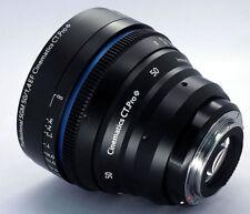 Cinematics cine lens sigma 50mm f1.4 Canon mount for RED RAVEN BMCC BMPCC 5D 6D
