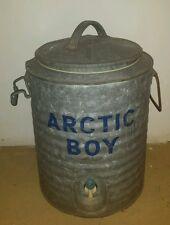 Vintage Artic Boy 5 Gal Water Cooler Jug Schlueter MFG