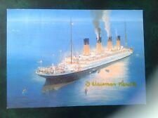Titanic 85th anniversary postcard USA 15th April 1997 D Haisman Kendle 35/100