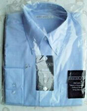 MENS/BOYS KUSTOM KIT  COPORATE OXFORD SHIRT LONG SLEEVED EASY IRON SMALL 14.5''