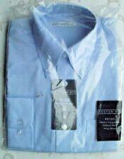 MENS/BOYS KUSTOM KIT  COPORATE OXFORD SHIRT LONG SLEEVED EASY IRON SMALL 14.5''