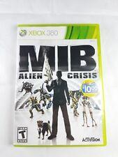 Men in Black Alien Crisis Microsoft Xbox 360 2012 Complete