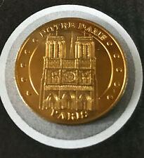 MONNAIE DE PARIS MEDAILLE JETON TOURISTIQUE MDP NOTRE DAME DE PARIS 2006 TOURS