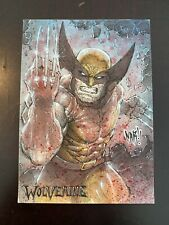 Wolverine Sketch Card By NAR Awesome Look!!!