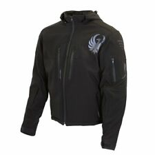 GENUINE MERLIN DUNE MOTORCYCLE SOFTSHELL PROTECTIVE JACKET (BLACK)