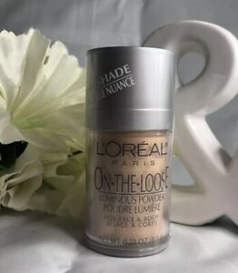 L'OREAL On The Loose Luminous Powder For Face & Body SUN DUST New + Free Ship!
