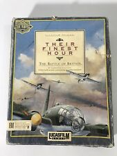 Their Finest Hour The Battle For Britain Lucasfilm Games for Commodore Amiga