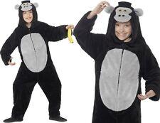 Costume per bambini Gorilla Ape Pezzo Unico da Abito Smiffys