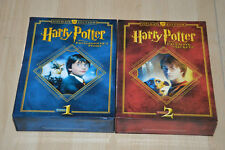 lot 2 Coffrets DVD Harry Potter 1 et 2  - Ultimate Edition / version Dutch