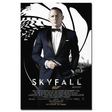 Skyfall Movie Poster Canvas Painting Unframed Wall Art Pictures 24X36inch