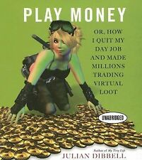 Rare 7 CD Play Money How I Quit My Day Job & Made Millions Trading Virtual Loot