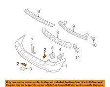 KIA OEM 01-09 Rio Rear Bumper-Bumper Cover Nut 0K2A150044
