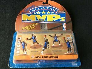 Galoob's All-Star MVPS 1997 Edition New York Knicks Poseable Figures