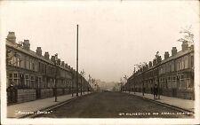 Small Heath, Birmingham. St Benedict's Road in Morcom Series.