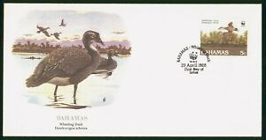 Mayfairstamps Bahamas FDC 1988 Whistling Duck First Day Cover wwp_52549