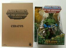 Motu classics Ceratus  Masters of the Universe MIB