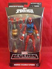 "Scarlet Spider Marvel Legends 6"" NEW MIB Rhino BAF Spiderman Homecoming Infinity"