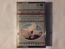 ANTAL DORATI Mussorgski Quadri di un'esposizione mc cassette k7 SIGILLATA SEALED