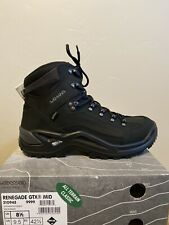 NEW Lowa Renegade GTX Mid 310945 Black/Black Sz: 9.5M MSRP $240