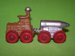 1930's MANOIL LEAD TRACTOR PLAIN FRONT & LARG SHELL ON TRUCK O'BRIEN 73A & 96