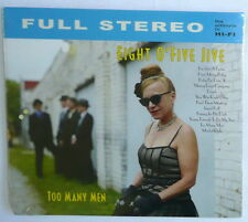 TOO MANY MEN BY EIGHT O'FIVE JIVE 12 Track List CD 2014  NEW