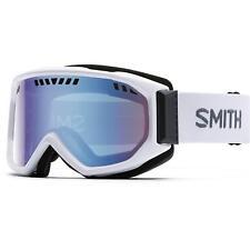 Smith Optics Scope Goggles (Blue Sensor Mirror / White / One Size)