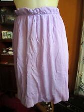 "22W 22"" True Vtg 70s Lilac Purple Flyweight Acrylic Slinky mod Skirt"