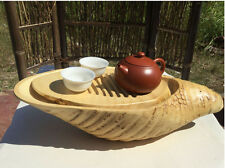 Natural bamboo root carving crafts tea tray coffee tray, tea sets 天然竹制根雕工艺品茶具 茶盘