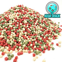 Pond Variety Pellets Floating Fish Food - Goldfish Orfe Koi Carp Tench Coldwater