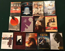 Spielberg 13 Dvd lot collection - Close Encounters, Schindler, Munich, Lincoln
