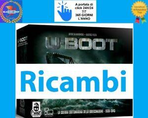 U Boot Ricambi Schede Tessere Pedine Miniatutre Token Sottomarino 3D 🤩🤩