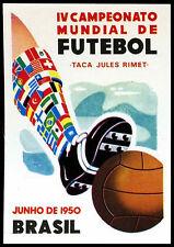Junho De 1950 Brasil #9 World Cup Story Panini Sticker (C350)