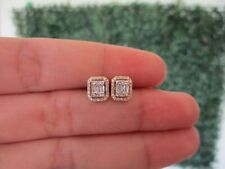.24 CTW Diamond Earrings 14K White and Yellow Gold JS97E sep