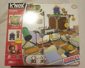 K'Nex Super Mario 3D Land Prongo Tanooki Nintendo Building Set Limited Incomplet