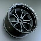 Tetsujin 1/10 Wheels DEEP SPIDER Rims Adjustable Offset 3-6-9mm -BLACK- (4 PC)