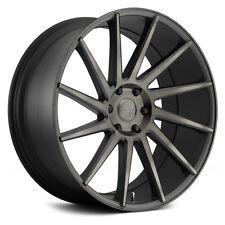 """22"""" Black Rims Dub Chedda Wheels Pirelli Tires Silverado Sierra Yukon Escalade"""