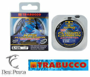 Filo da Pesca - TRABUCCO XPS FLUOROCARBON SALTWATER 50mt - 0,25
