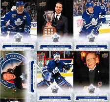 2017 UD TORONTO MAPLE LEAFS CENTENNIAL HOCKEY COMPLETE BASE & SP SET (1-200)
