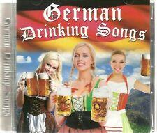 GERMAN DRINKING SONGS Inc AUF INS BIERZELT, MAUSPOLKA, AUF DEM FESTPLATZ & MORE