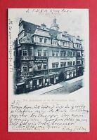 AK Alt LEIPZIG 1903 Das alte Fürstenhaus in der Grimmaischen Strasse  ( 33294