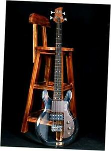 Dan Armstrong Style Custom 4 Strings Lucite Electric Bass Guitar AC-230