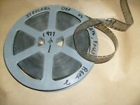 1977 Vintage Projector Film, Pittsburgh Steelers Football - 16mm Reel , Def.