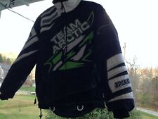 TEAM ARCTIC CAT SNO PRO snowmobile Long jacket size Medium Neon Green/Black